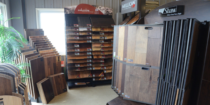 Hardwood Displays